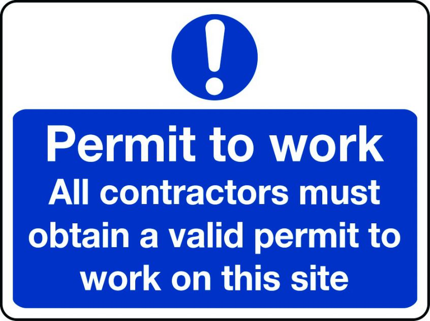 What is a permit to work?