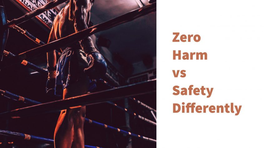 Zero Harm vs. Safety Differently