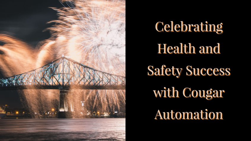 Celebrating Health and Safety Success (Cougar Automation)