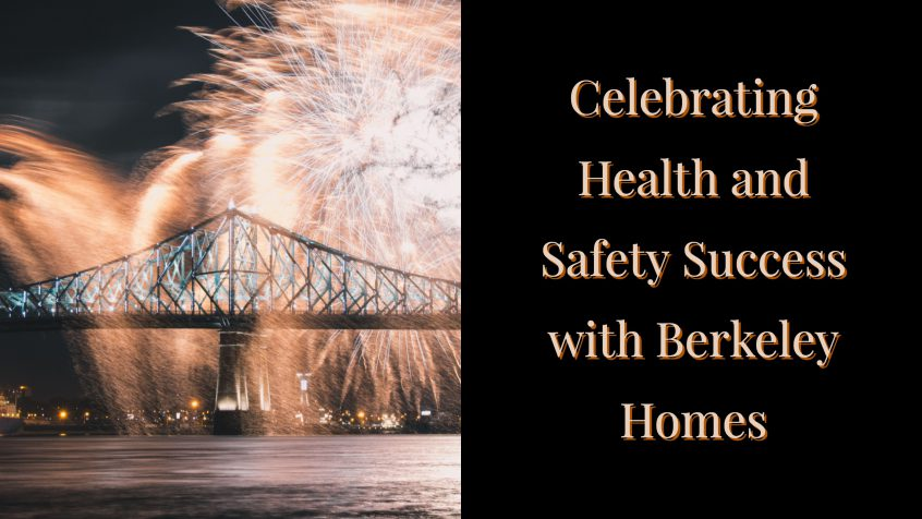 Celebrating health and safety success with Berkeley Homes