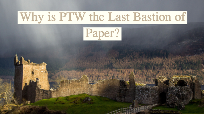 Safety Digitally - Why is PTW the Last Bastion of Paper?