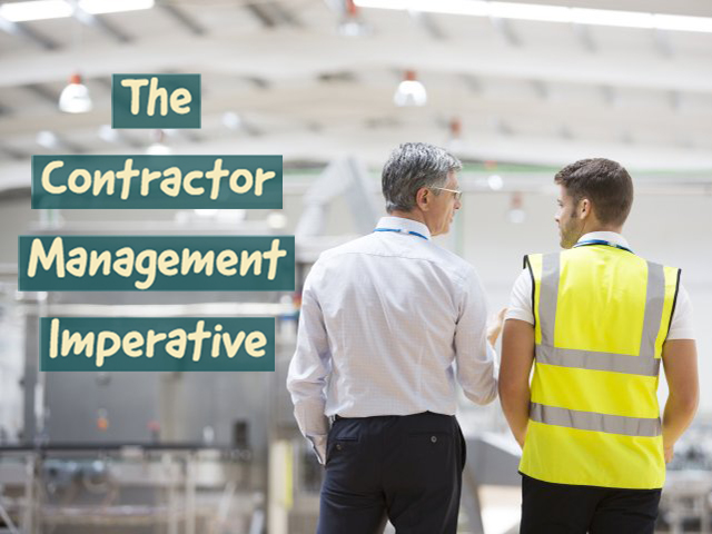 e-permits webinar series - the contractor management imperative