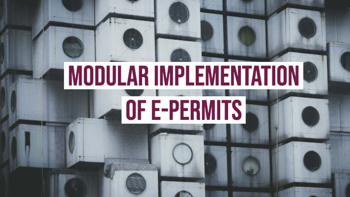 e-permits webinar series - Modular implementation of e-permits