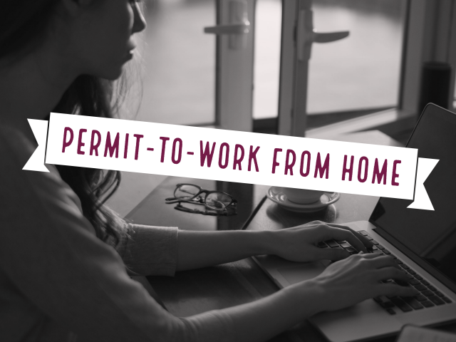 permit-to-work from home