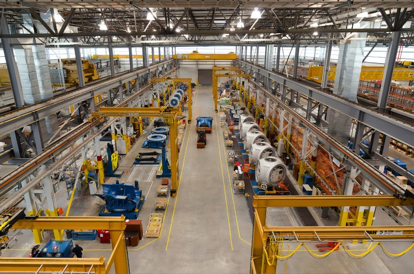 picture of a manufacturing facility