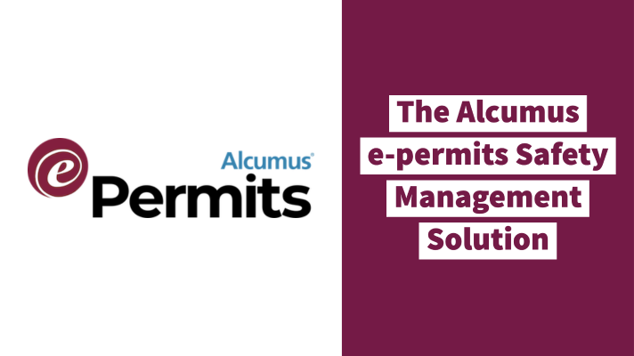 The Alcumus e-permits safety management solution