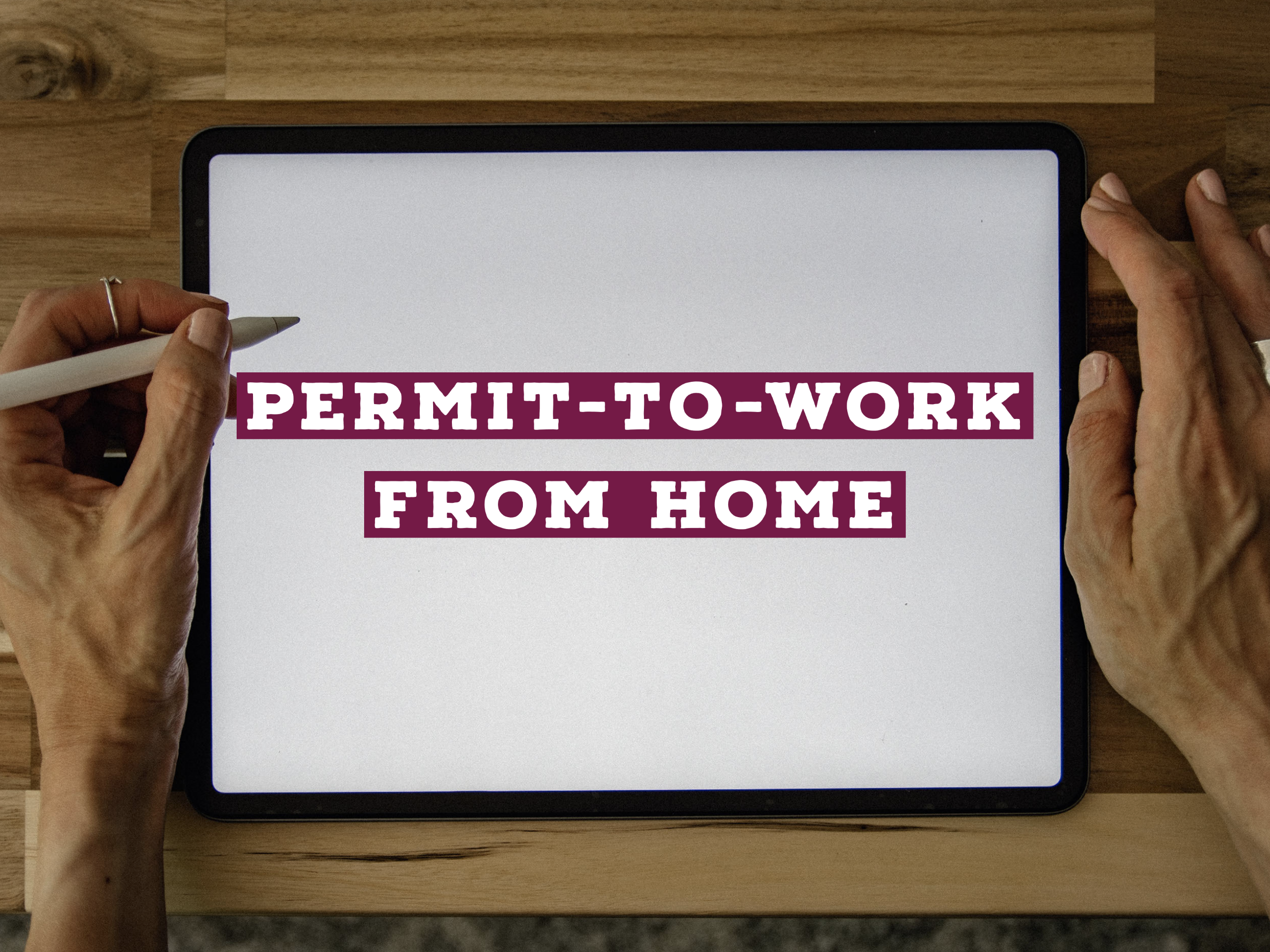 Permit-to-Work from Home Webinar