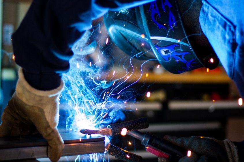 welding in action