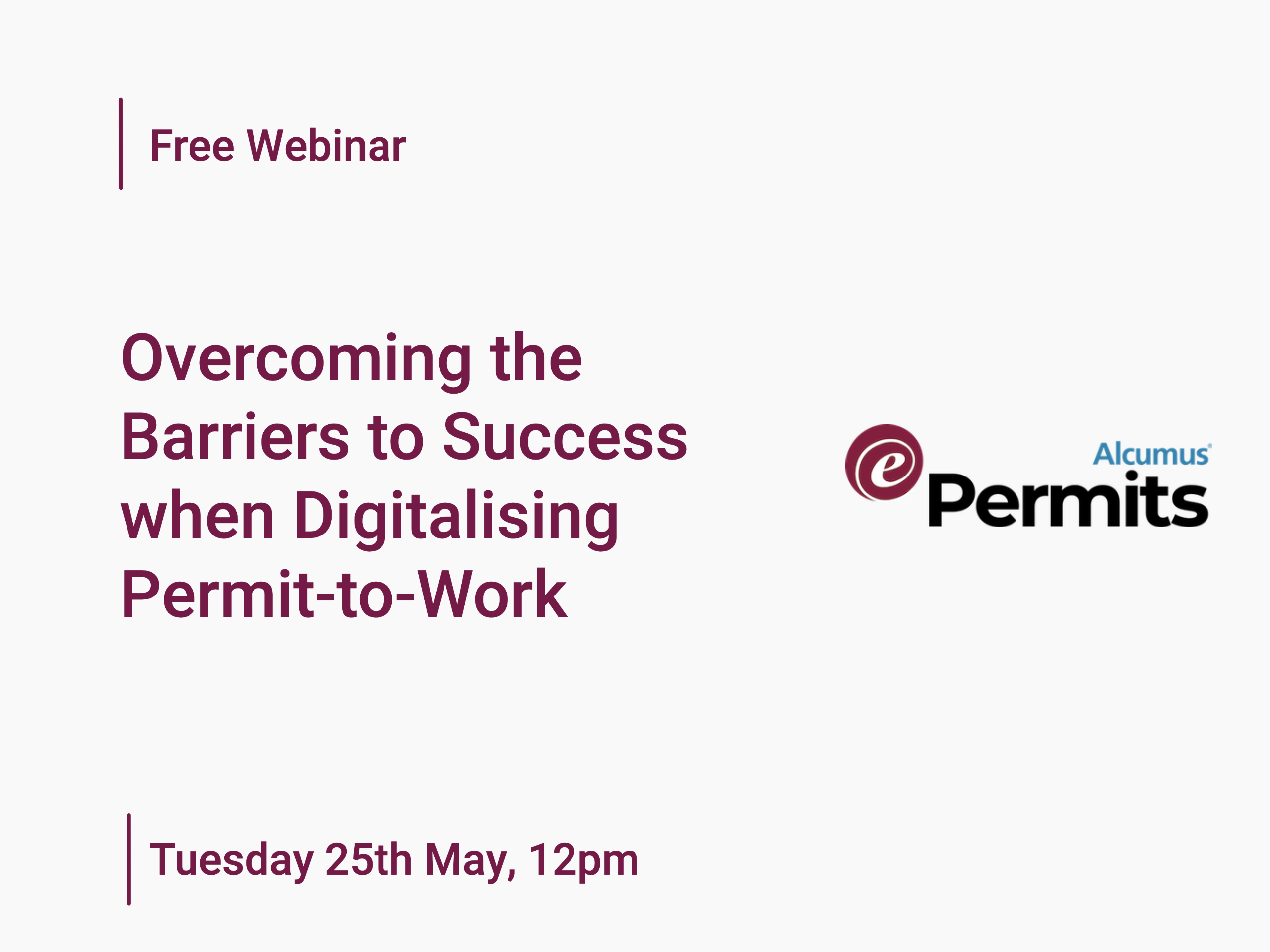 Overcoming the Barriers to Success When Digitalising Permit-to-Work